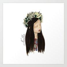 Crown of Roses Art Print