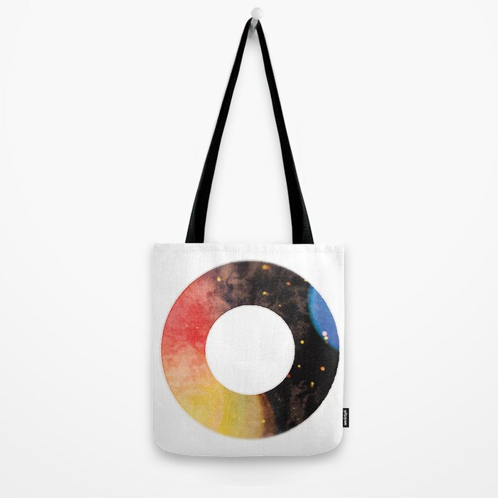 Ring of the Universe Tote Bag