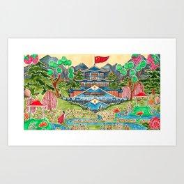 The Nightingale Series - 1 of 8 Art Print