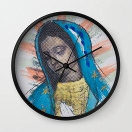 Mi Morenita Wall Clock