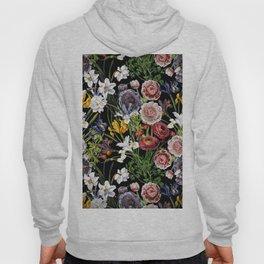 Vintage & Shabby Chic - Lush baroque flower pattern Hoody