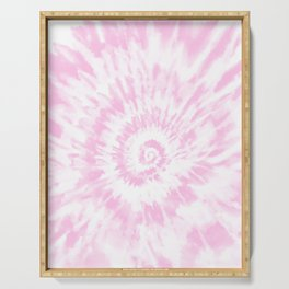 Lighter Pink Tie Dye Serving Tray