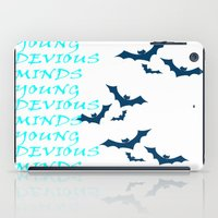 bats iPad Cases featuring Bats by Young Devious Minds
