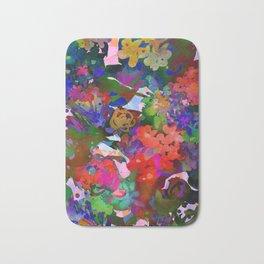 Wildflower Tapestry Bath Mat
