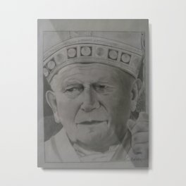 Your Holiness Metal Print