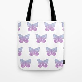 Mermaid Butterfly Pattern #1 #decor #art #society6 Tote Bag