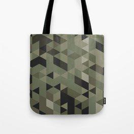 Isometric Camo Tote Bag