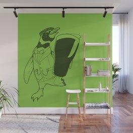 Séamus the Magellanic Beer Penguin Wall Mural