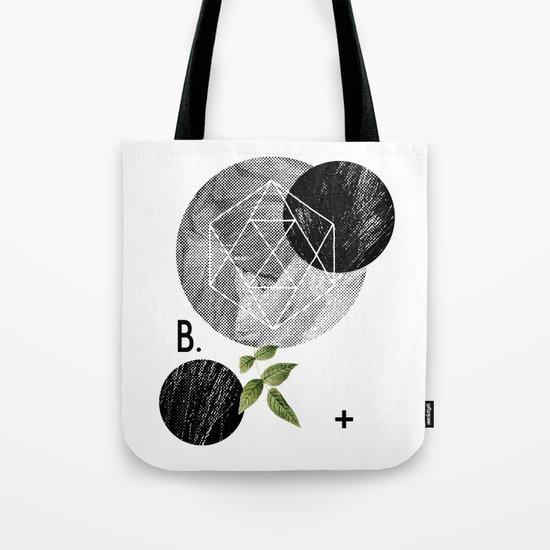 B-plus. Tote Bag