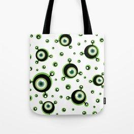 Justified Paranoia Green Tote Bag