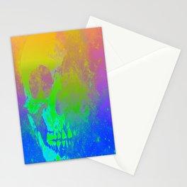 Skull/Star II Stationery Cards