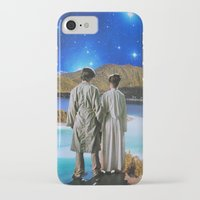twins iPhone & iPod Cases featuring Twins by John Turck