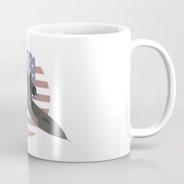 American SR-71 Blackbird Reconnaissance Aircraft Coffee Mug