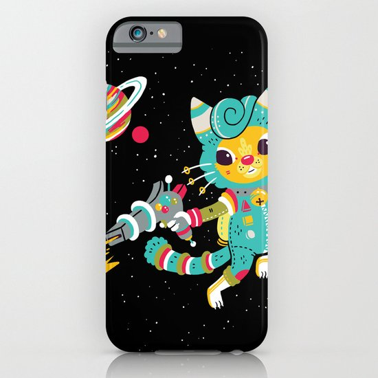 Kitty Cat Space Captain iPhone & iPod Case