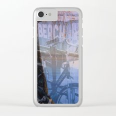 Biking in Nature Clear iPhone Case