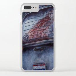 The Soccer Mom Killer Clear iPhone Case