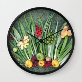 GARDEN ART Wall Clock