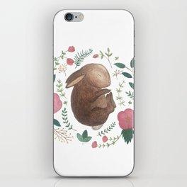 Sleeping Bunny iPhone Skin