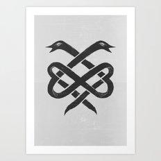 The Infinity Art Print