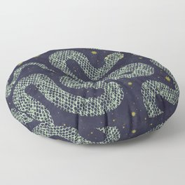 Space Serpent Floor Pillow