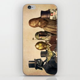 Victorian Wars (square format) iPhone Skin