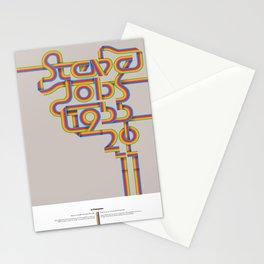 Steve Jobs. In Memoriam Stationery Cards