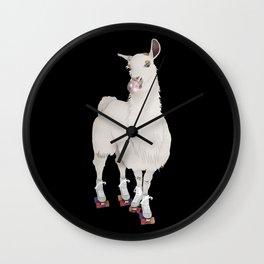 LLAMA IN L.A. Wall Clock