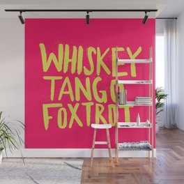 Whiskey Tango Foxtrot - Color Edition Wall Mural