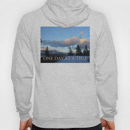 One Day at a Time Rooftop, Hills, and Trees Hoody