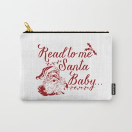 Santa Baby - Red Carry-All Pouch