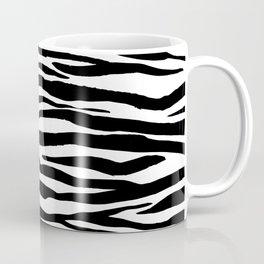 Zebra StripesPattern Black And White Coffee Mug