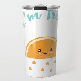 Fresh Orange Travel Mug