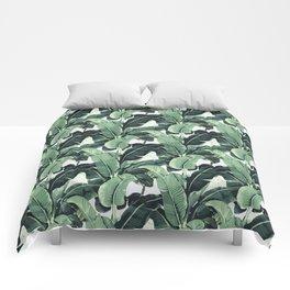 Tropical Banana Leaf Comforters