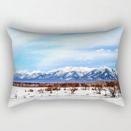 Sayan Mountains Rectangular Pillow