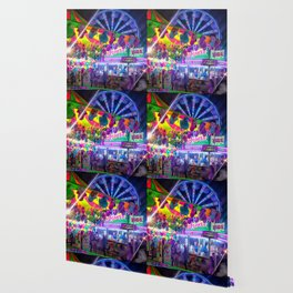 Fun Fun and Funnel Cakes at the carnival Wallpaper