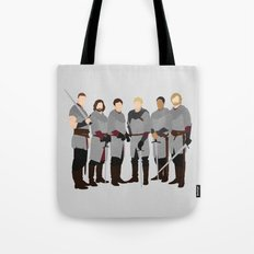 Merlin bbc, The Knights of the Round Table Tote Bag