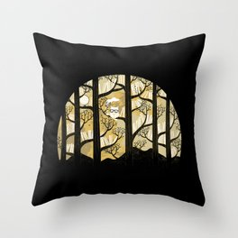 Why is an owl smart Throw Pillow