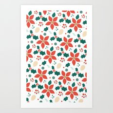 Day 06/25 Advent - Deck the Halls Art Print
