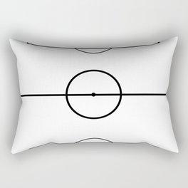 Soccer Field Rectangular Pillow