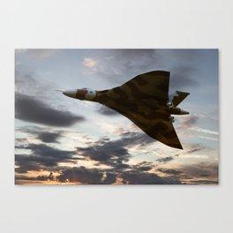 Vulcan Icon  Canvas Print