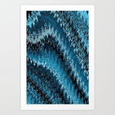 Snake skin Abstract Art Print