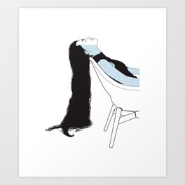 Calming self Art Print