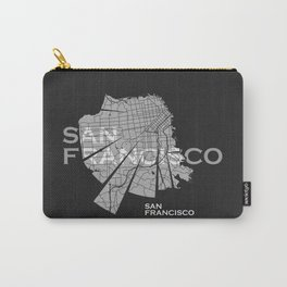 San Francisco Map Carry-All Pouch