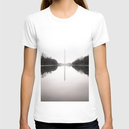 Washington Monument in the Mist - Washington D.C. T-shirt