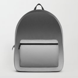 Gray to Black Horizontal Bilinear Gradient Backpack