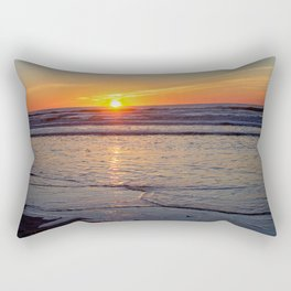 Sunrise over the Atlantic Rectangular Pillow