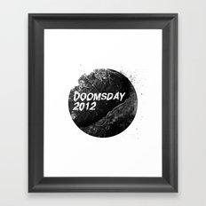 Doomsday 2012 Framed Art Print