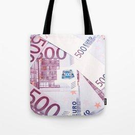 500 Euros bills Tote Bag