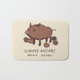 moar boars Bath Mat