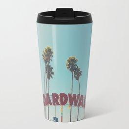 Santa Cruz boardwalk ... Travel Mug